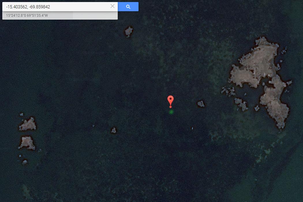Imagen 1: ¿Esferas luminosas sobre el lago Titicaca?