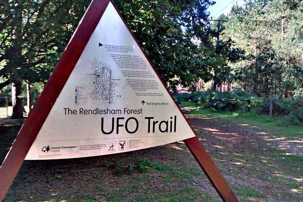 El encuentro bosque Rendlesham OVNI es tan famoso que se ha convertido en una atracción turística.
