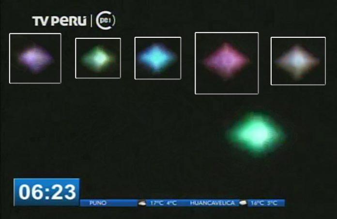 Capturan en vídeo un objeto volador luminoso y parpadeante sobre Cusco, Perú