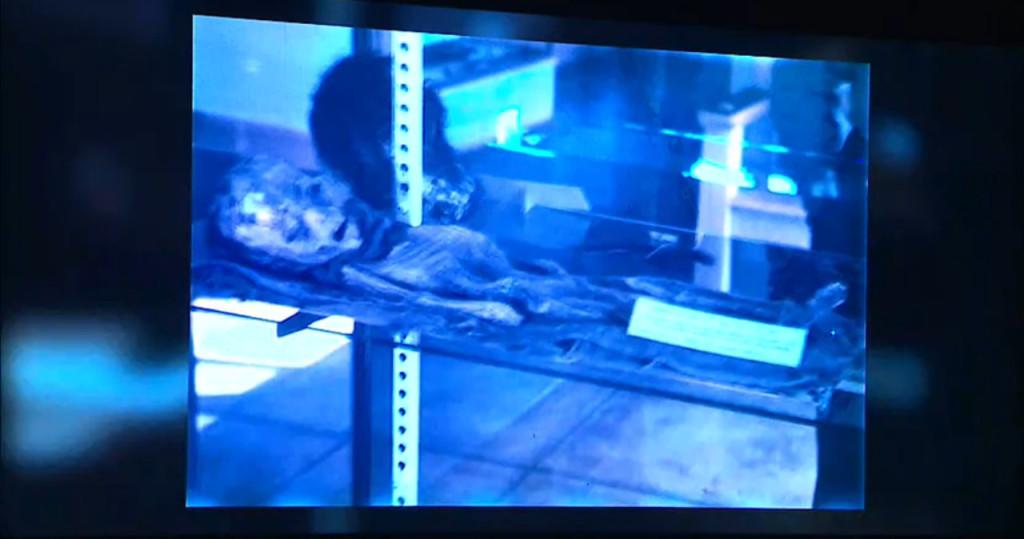 Segunda fotografía del supuesto ser extraterrestre de Roswell presentada casi al finalizar el evento #BeWITNESS
