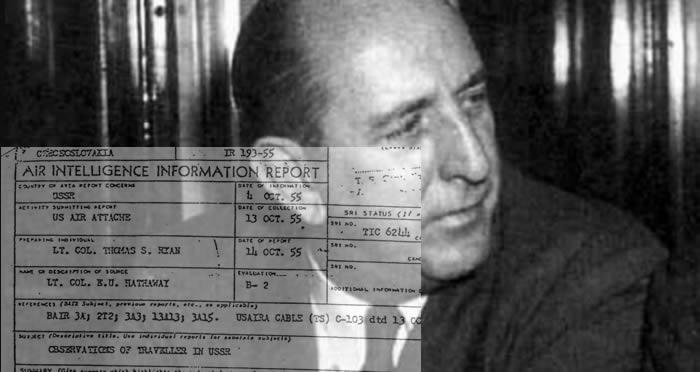 Senador de EE.UU. fue testigos de 2 OVNIs en Rusia en el año 1955. El gobierno se encargó de mantenerlo en secreto.