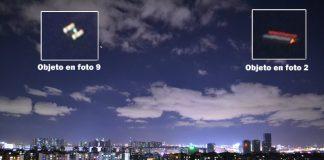 Objeto aéreo anómalo se desplaza en el cielo de la ciudad de Kunming, China.