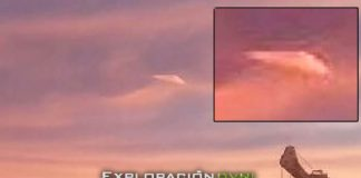 OVNI triangular fue visto y fotografiado por testigo en Australia.
