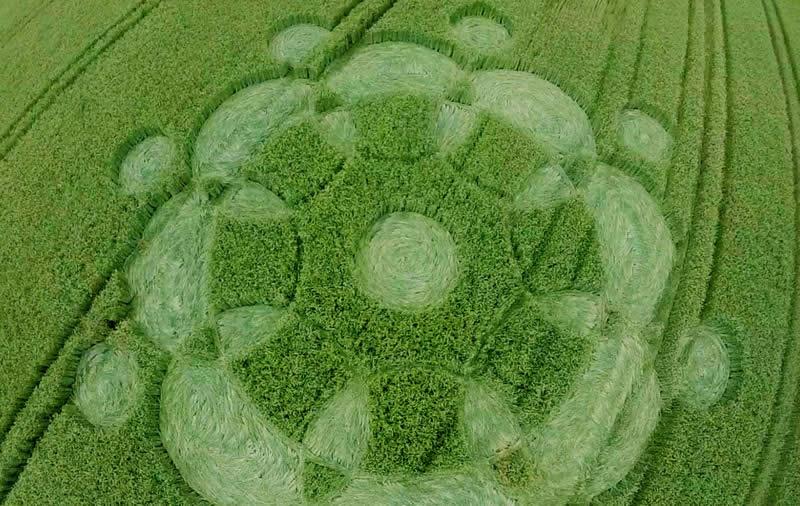 Crop circle aparece en Alemania.
