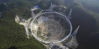 """Hecho en China: Se construye el """"mayor radiotelescopio del mundo"""""""