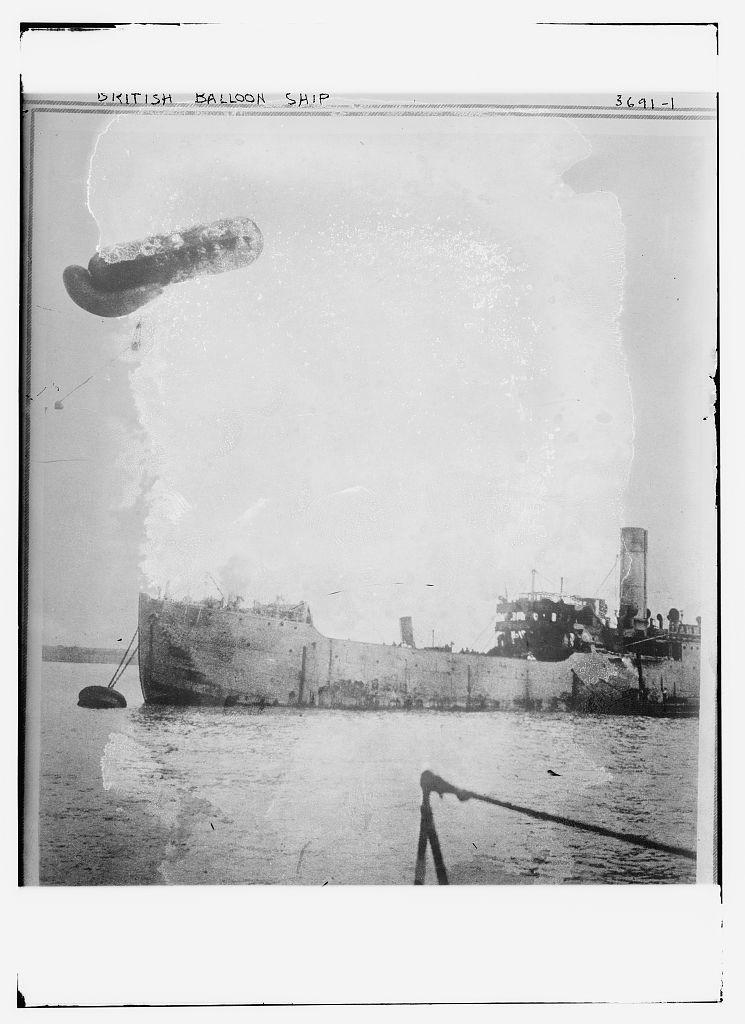 Título: Nave Globo británica Créditos: Servicio de Noticias Bain, editor Fecha creada / publicada: [entre ca. 1910 y ca. 1915]