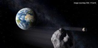 """Una """"joya"""" de colosal tamaño pasará """"cerca"""" de la Tierra. Crédito: ESA"""