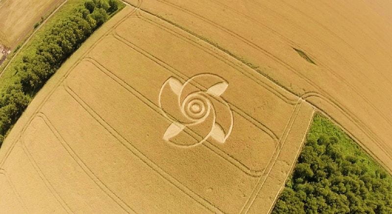 El 7 de junio se reportó un Crop Circle en Crop circle reportado en Groziethen, Brandenburg, Alemania.