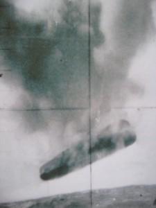 Imagen 3. Objeto desconocido fotografiado en el Ártico por el Submarino USS Trepang (SSN-674)