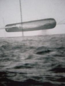 Imagen 4. Objeto desconocido fotografiado en el Ártico por el Submarino USS Trepang (SSN-674)