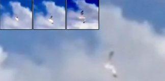 Testigo reporta un UFO Crash en el cielo de San Petesburgo, Rusia.