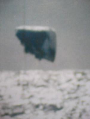 Una los objetos desconocidos del Ártico en 1971. Crédito: