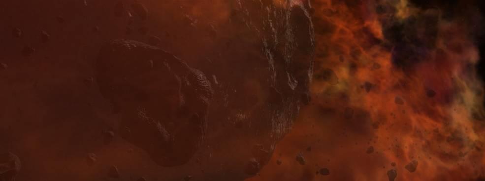 Este es el concepto de un artista de una nebulosa que contiene gas, polvo y asteroides que posteriormente formar estrellas y planetas. Créditos: NASA Goddard