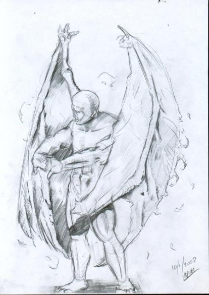Dibujo basado en la descripción del testigo