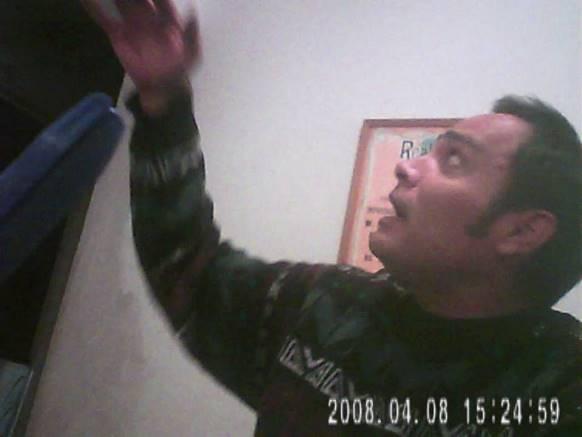 Fabián Castillo, contando el relato de lo que vió.