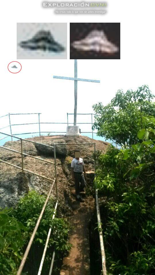 Anomalía fotografiada en Cundinamarca y reportada a exploracionovni.com