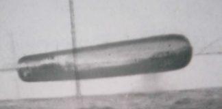 Fotografía de un OVNI en el Ártico en el año 1971.