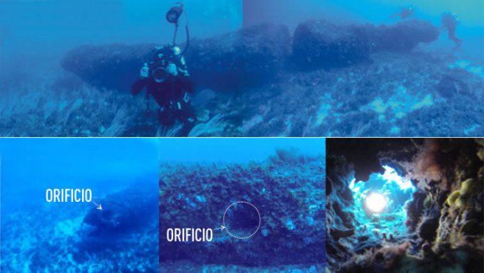 El monolito hallado en el canal de Sicilia evidencia avanzada actividad humana en el Mesolítico. Crédito: sciencedirect.com