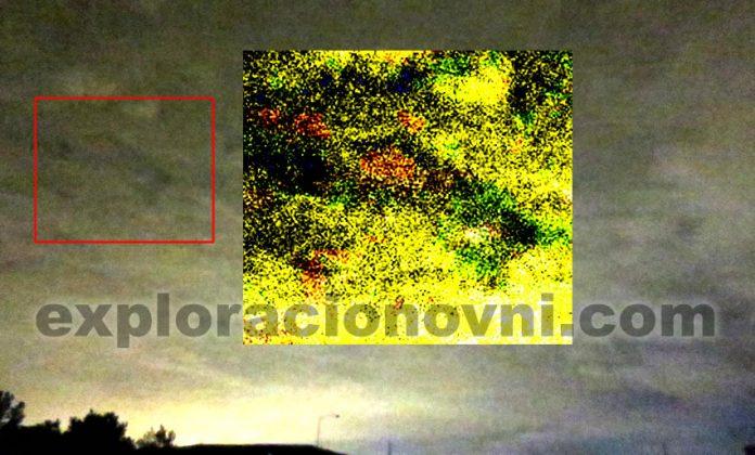 Impresionante OVNI con forma de boomerang es fotografiado sobre Pennsylvania. Crédito: MUFON