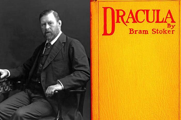 Bram Stoker y su novela.