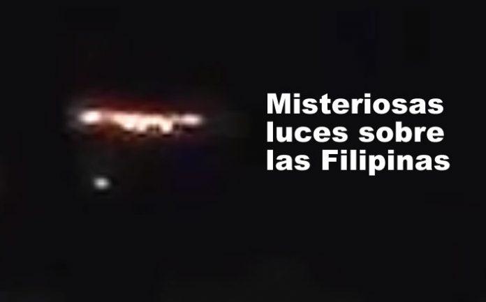Misteriosas luces sobre Filipinas ¿OVNIs?