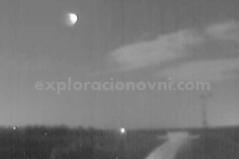 Un meteorito atravesó varias zonas de España. Fecha: 28 de agosto (2015)