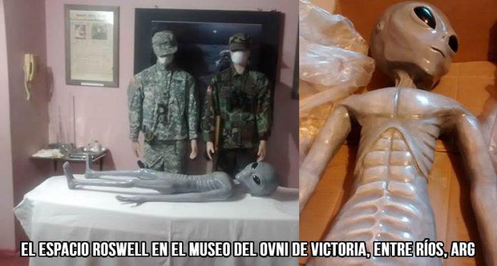 El viernes 28 de Agosto a las 10:30 Hs. se presentó una nueva atracción en el Museo del Ovni de Victoria, en esta localidad de la Provincia de Entre Ríos.
