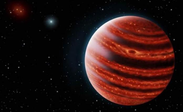 Representación artística del exoplaneta. Foto:Danielle Futselaar y Frank Marchis. Crédito: Agencia de Noticias de El Universal