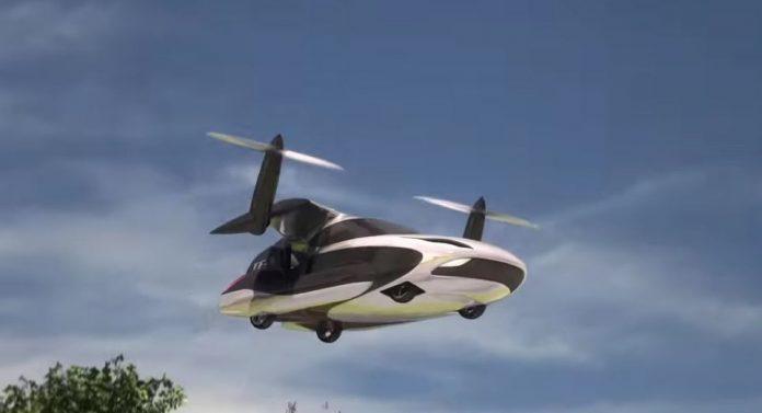 El TF-X el auto volador que muy pronto podría recorrer los cielos de todo el mundo.