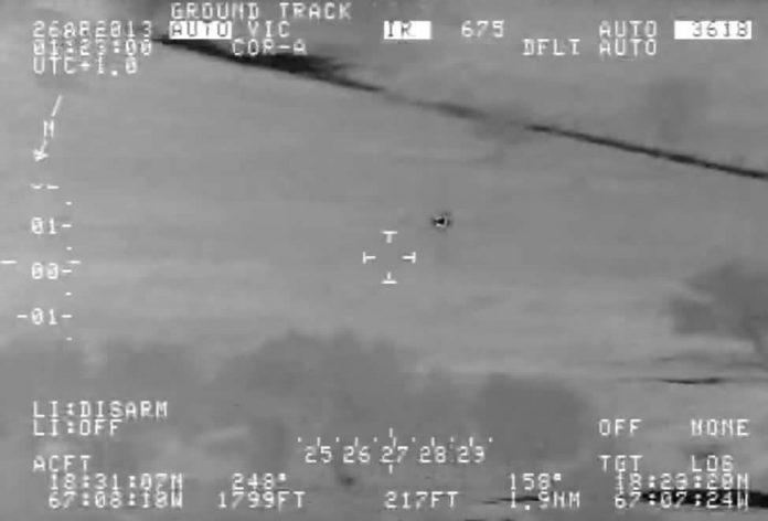 El vídeo del OVNI grabado por un avión del Departamento de Seguridad Nacional fue catalogado como desconocido.