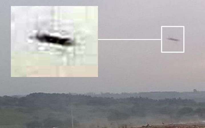 Según el testigo, el objeto tenía forma de disco y dos antenas. Crédito: noticiaslaregion.com.ar
