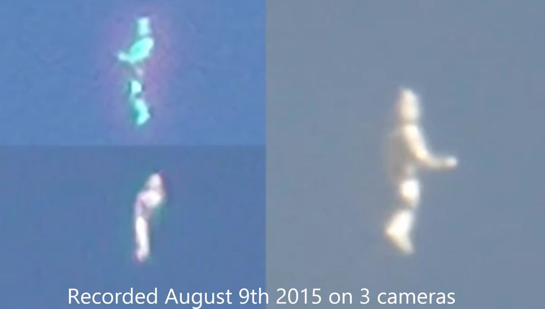 Constantemente vienen apareciendo vídeos de extraños objetos polimórficos con formas humanoides.