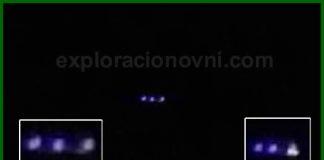 Un objeto luminoso fue grabado sobre el Dindal, Colombia. Agosto 2015.