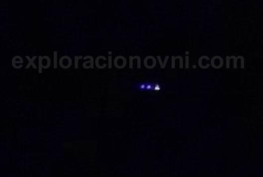 Imagen 1. OVNI en El Dindal, Colombia. Agosto 2015.