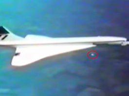 Un OVNI durante el test de vuelo del Concorde (junio 1976)