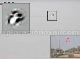 OVNI grabado sobre criadero de ganado vacuno en Chile. Crédito: Mauri Morales