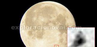 Una anomalía de forma triangular fotografiada en Luna. ¿Posible nave?