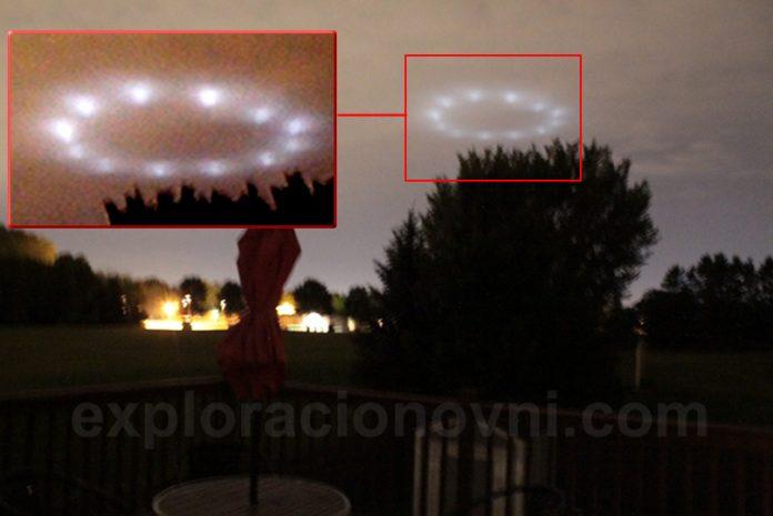 Una familia de Minnesota (EE.UU.) y más testigos en otras localidades vieron este OVNI.