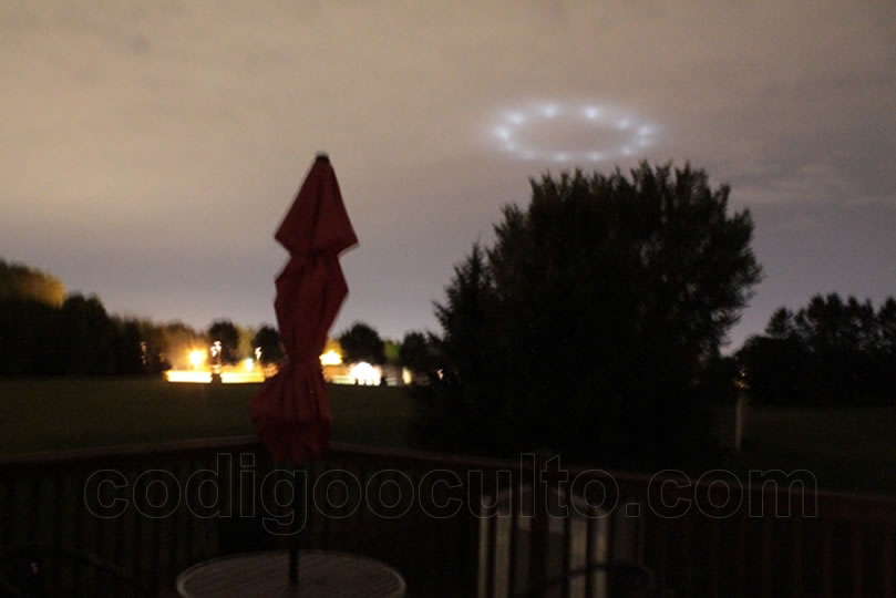 Imagen 1. OVNI en Minnesota, EE.UU.