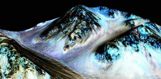 """La NASA confirma: hay agua en Marte """"bajo ciertas circunstancias"""""""