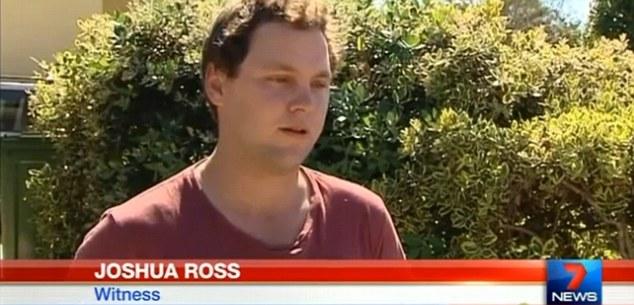 Joshua Ross, testigo que grabo el objeto anómalo sobre Queensland, Australia.