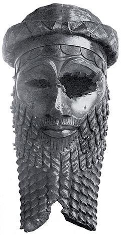 Busto de un gobernante acadio, probablemente Sargón.