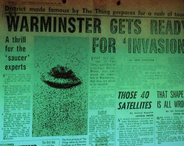 """Un informe de 1965 de noticias sobre """"Warminster Thing"""""""