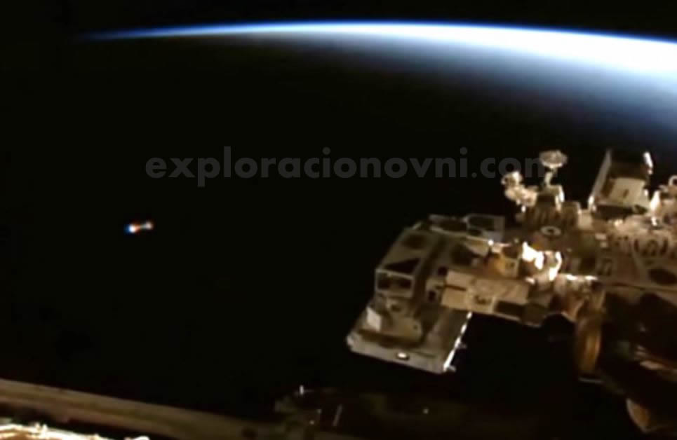OVNI captado por la ISS