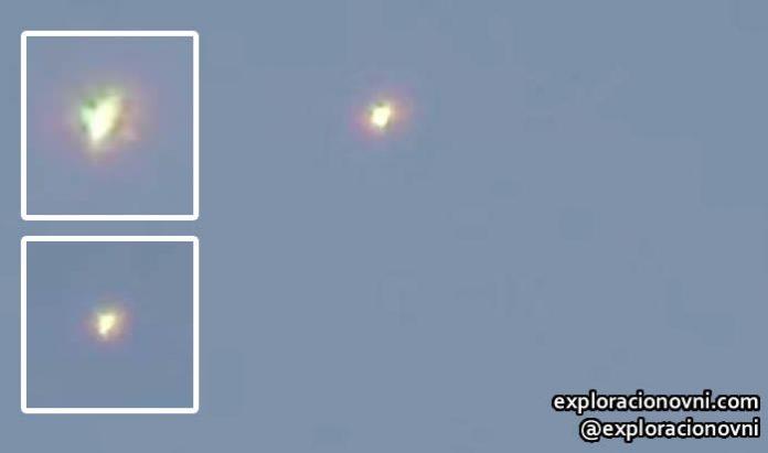 Avistamiento de objeto volador anómalo en Guadalajara, México