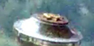 Impresionante artefacto volador desconocido sobre una isla de Hawai.