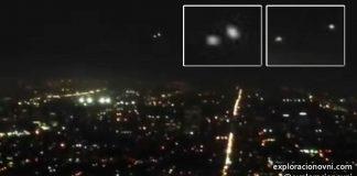 Avistamiento OVNI en Los Angeles, ocurrido en septiembre 2015.