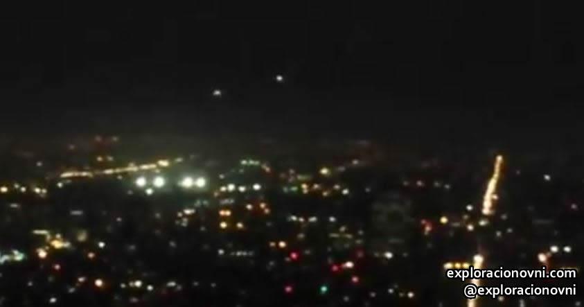 OVNIs sobre Los Angeles.