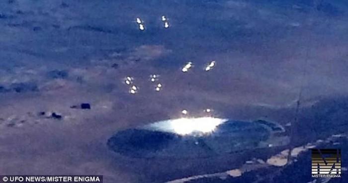 ¿Un avistamiento OVNI en el Área 51?