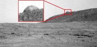 Fotografía de NASA muestra un domo en Marte